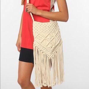 Ecote Macrame Crossbody Bag